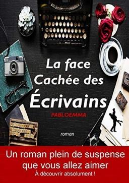 Couverture de La face cachée des écrivains par pabloemma
