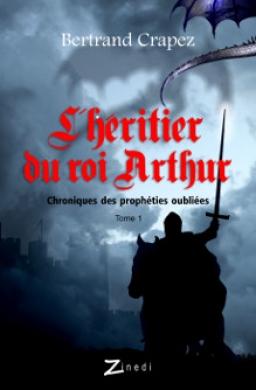 Couverture de L'Héritier du roi Arthur par Bertrand Crapez