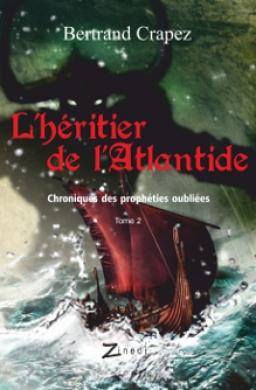 Couverture de L'Héritier de l'Atlantide par Bertrand Crapez