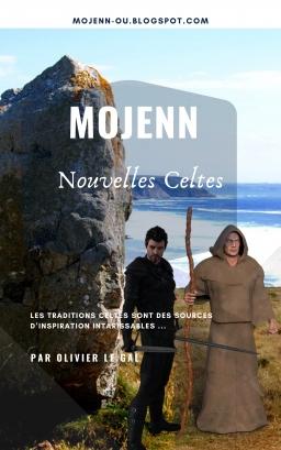 Couverture de MOJENN Nouvelles Celtes par OLIVIER LE GAL