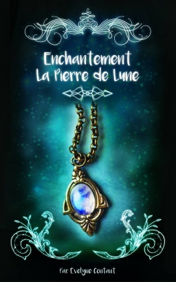 Couverture de Enchantement Tome 1: La pierre de lune par Evelyne Contant