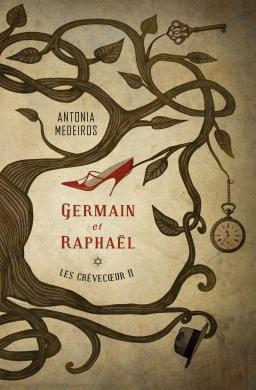 Couverture de Les Crèvecœur 2: Germain et Raphaël par Antonia Medeiros