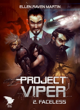 Couverture de Project Viper - 2 - Faceless par Ellen Raven Martin