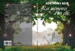 Couverture de Les mémoires d'un elfe par Adenora KER