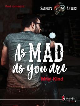 Couverture de As Mad as you are par Milyi Kind