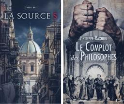 Couverture de La Source S-Le Complot des Philosophes par Philippe RAXHON