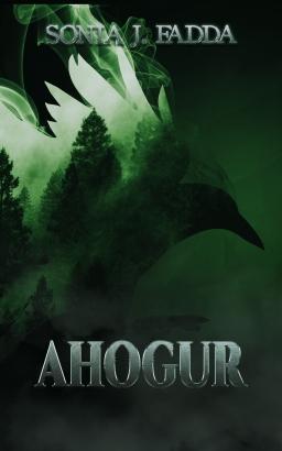 Couverture de Ahogur par Sonia J.Fadda
