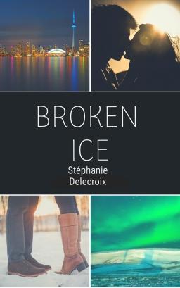 Couverture de Broken ice par Stéphanie Delecroix