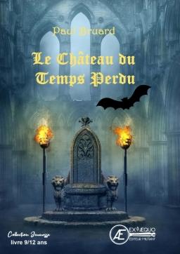 Couverture de Le château du temps perdu par Paul Bruard