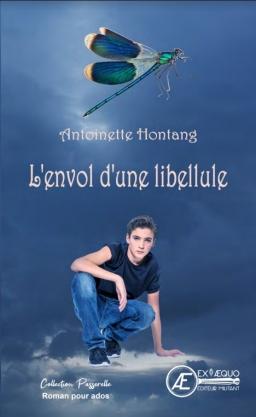 Couverture de L'envol d'une libellule par Antoinette Hontang