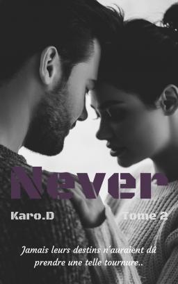 Couverture de Never Tome 2 par KARO.D