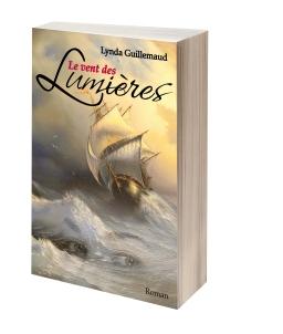 Couverture de Le Vent des Lumières par Lynda Guillemaud