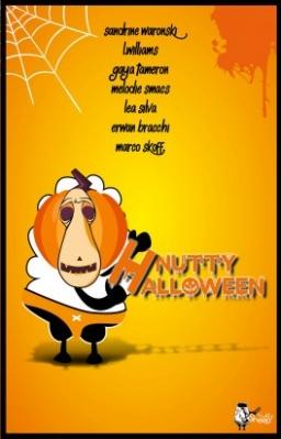 Couverture de Nutty Halloween par Collectif
