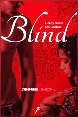 Couverture de Blind par Haley Davis - Mo Gadarr