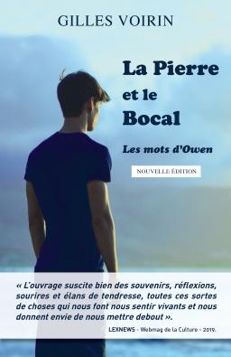 Couverture de La Pierre et le Bocal - Les mots d'Owen par GILLES VOIRIN