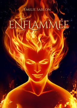 Couverture de Enflammée par Émilie Sablon
