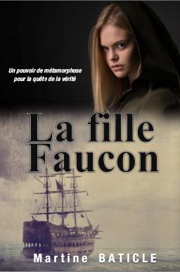 Couverture de La Fille Faucon par Martine Baticle