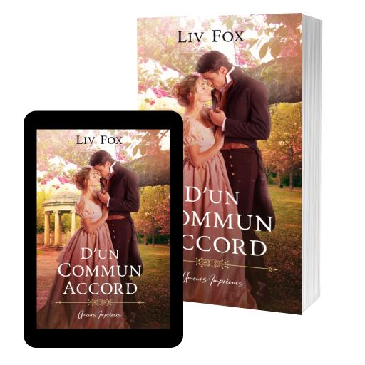Couverture de D'un Commun Accord par Liv Fox