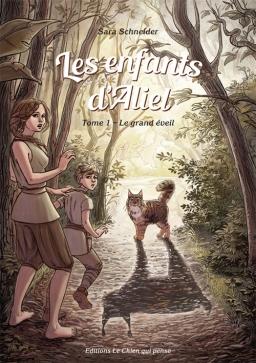 Couverture de Les enfants d'Aliel, tome 1: Le grand éveil par Sara Schneider