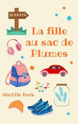 Couverture de La fille au sac de plumes par Michèle Beck