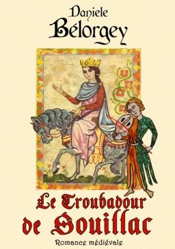 Couverture de Le troubadour de Souillac par Danièle Bélorgey