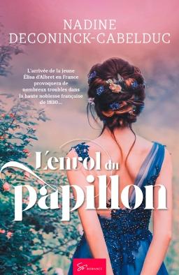 Couverture de L'envol du papillon par Nadine Deconinck Cabelduc