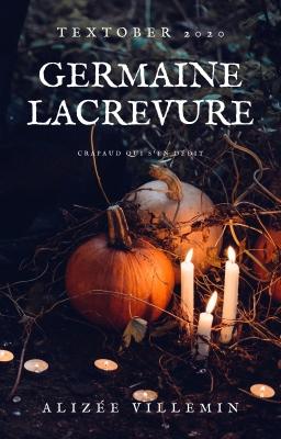 Couverture de Germaine Lacrevure par Alizée Villemin