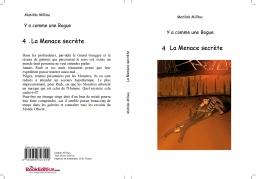 Couverture de La Menace secrète par Matilda Milliau