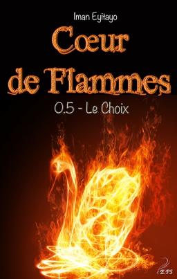 Couverture de Coeur de flammes, tome 0.5 par Iman EYITAYO