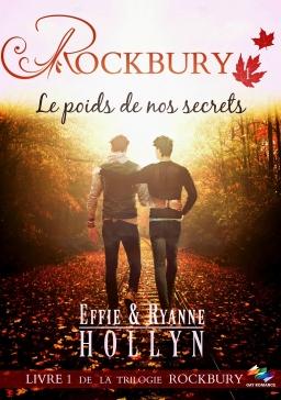 Couverture de ROCKBURY - Le poids de nos secrets par Effie & Ryanne HOLLYN