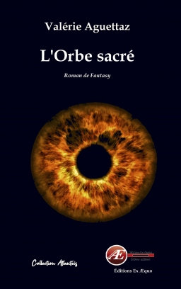 Couverture de L'Orbe sacré par Valérie Aguettaz