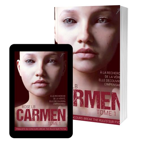 Couverture de CARMEN, tome 1 par Rose LB
