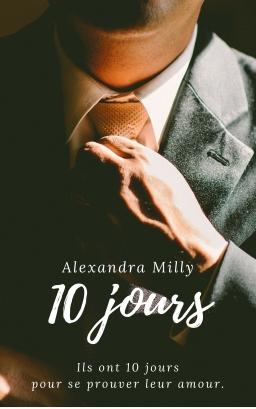 Couverture de 10 jours par Alexandra Milly