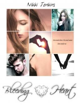 Couverture de Bleeding Heart par Nikki Jenkins