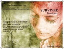 Couverture de Survivre par Stéphanie BARDOU
