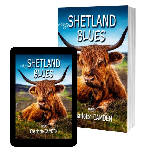 Couverture de Shetland Blues par Charlotte Camden