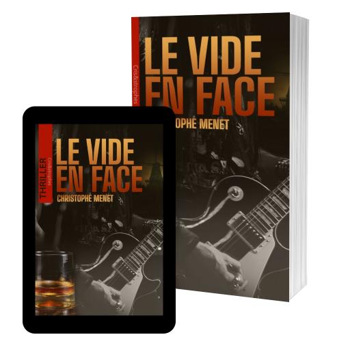 Couverture de Le Vide en Face par Christophe Menet