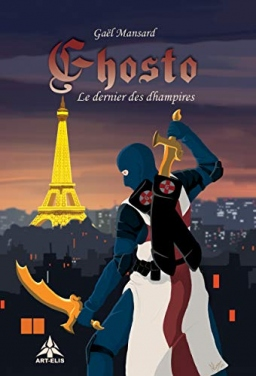Couverture de Ghosto : le dernier des dhampires par Gaël Mansard